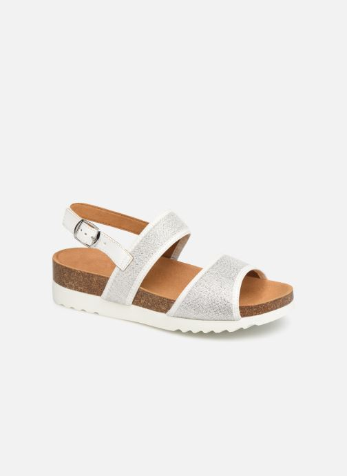 Sandals Scholl Kyria C Silver detailed view/ Pair view