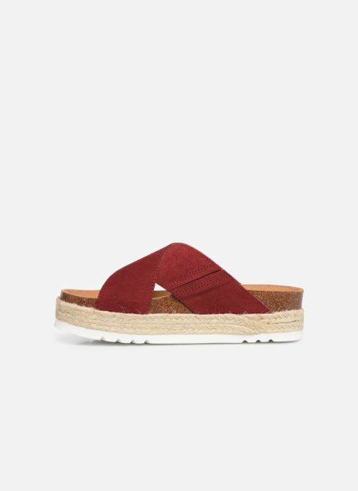 Espadrilles Scholl Malindy cross C Red front view