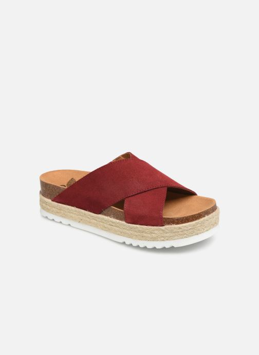 Espadrilles Scholl Malindy cross C Red detailed view/ Pair view