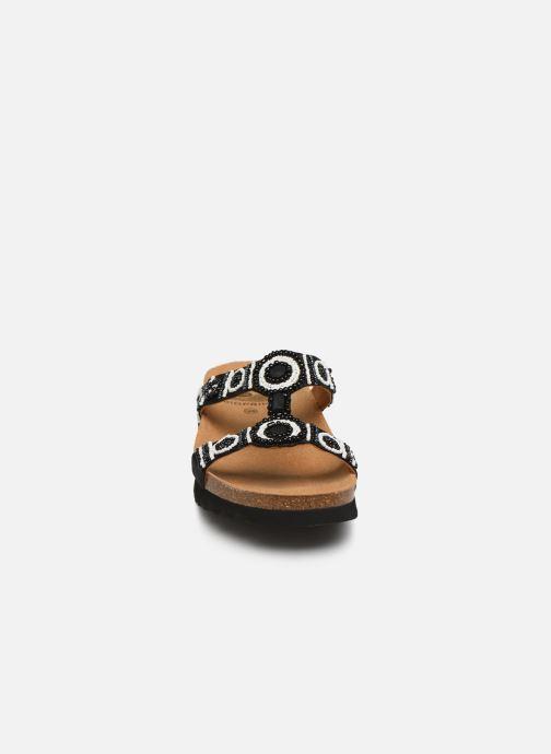 Mules et sabots Scholl New bogota wedge C Noir vue portées chaussures