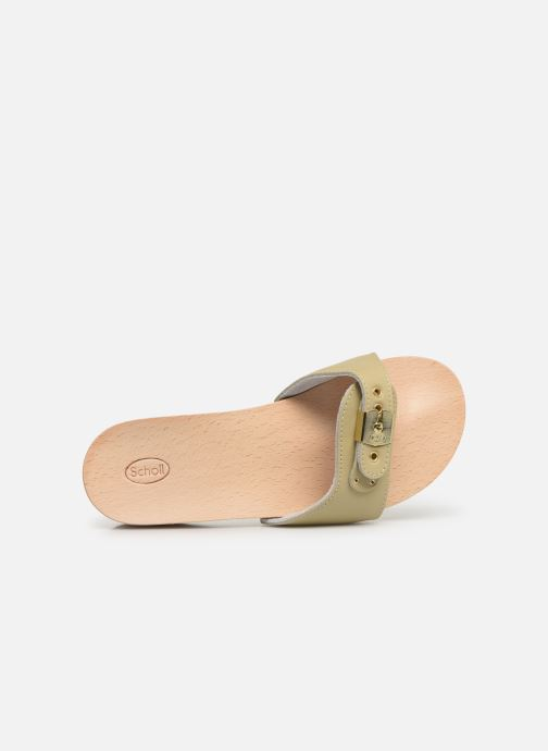 Mules & clogs Scholl Pescura piatto C Beige view from the left