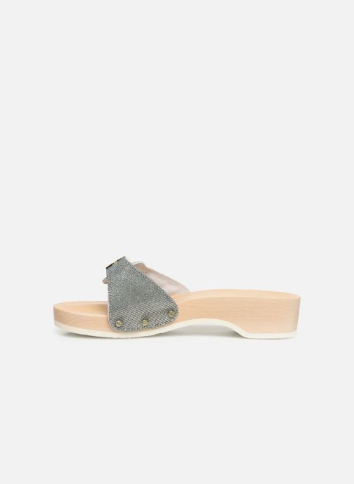 Mules & clogs Scholl Pescura tacco C Silver front view