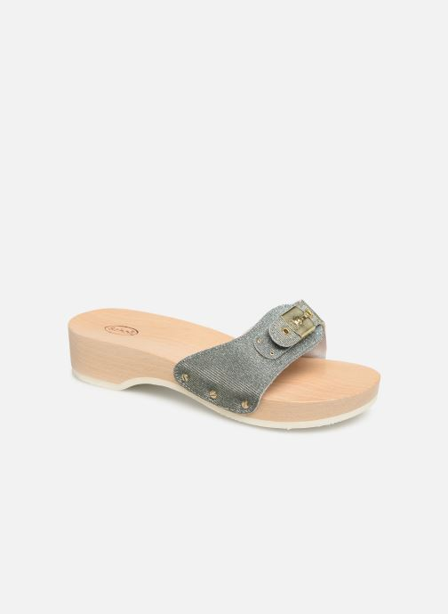 Mules & clogs Scholl Pescura tacco C Silver detailed view/ Pair view