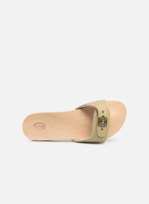 Mules & clogs Scholl Pescura tacco C Beige view from the left