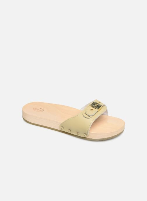 Mules & clogs Scholl Pescura tacco C Beige detailed view/ Pair view