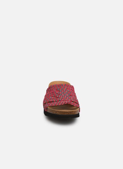 Mules et sabots Scholl Saiki C Rose vue portées chaussures