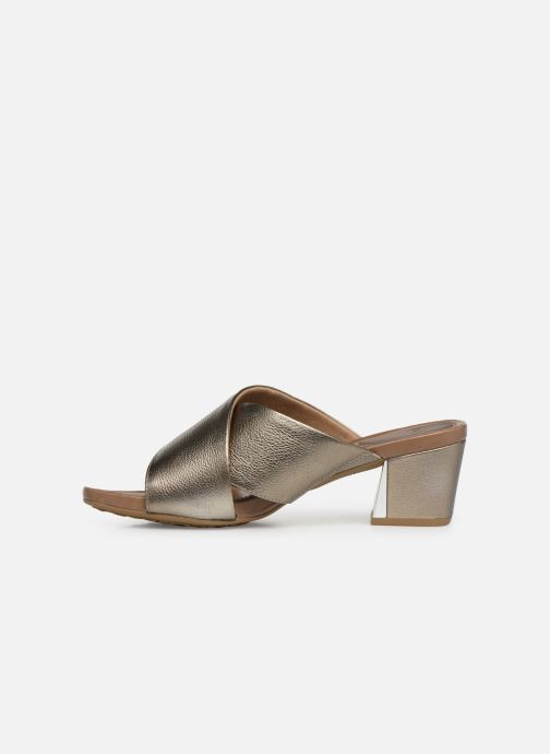 Mules & clogs Scholl Sarah C Bronze and Gold front view