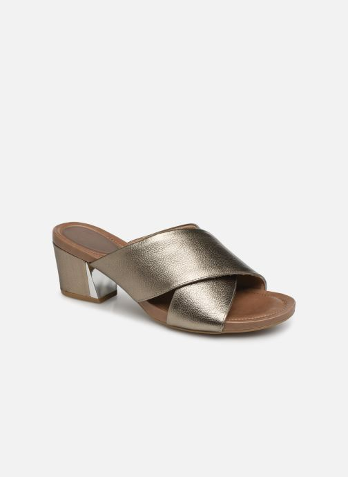 Mules & clogs Scholl Sarah C Bronze and Gold detailed view/ Pair view