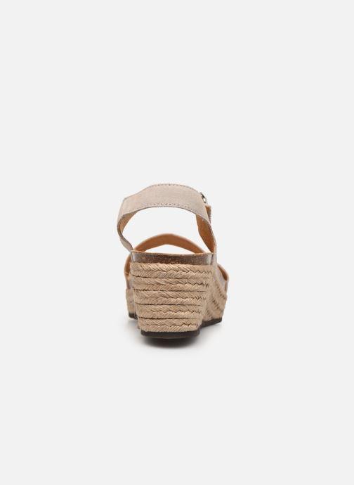Scarpe di corda Scholl Selenia C Beige immagine destra