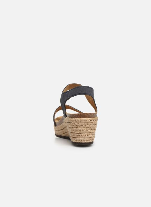 Espadrilles Scholl Selenia C Blue view from the right