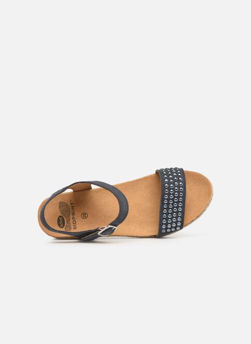 Espadrilles Scholl Selenia C Blue view from the left