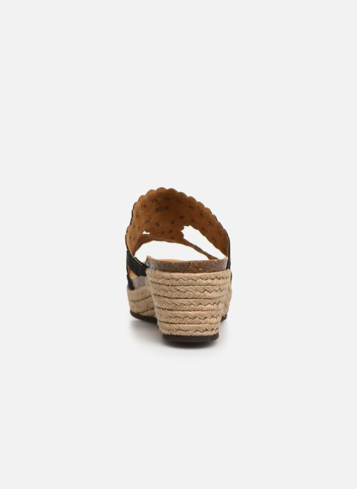 Espadrilles Scholl Shannon C Black view from the right