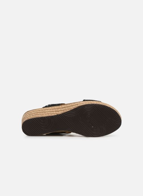Espadrilles Scholl Shannon C Black view from above
