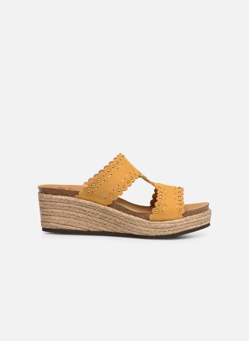 Espadrilles Scholl Shannon C Yellow back view