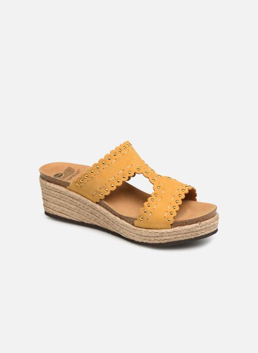 Espadrilles Scholl Shannon C Yellow detailed view/ Pair view