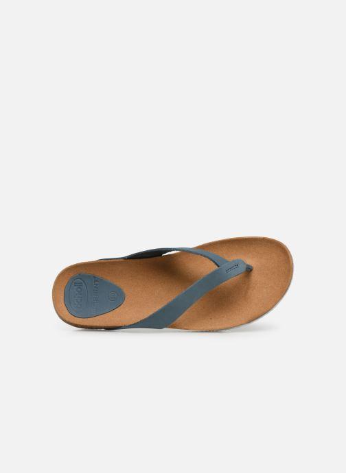 Tongs Scholl Tist 2.0 C Bleu vue gauche