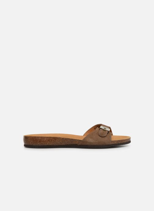 Mules & clogs Scholl Bahama 2.0 C Brown back view