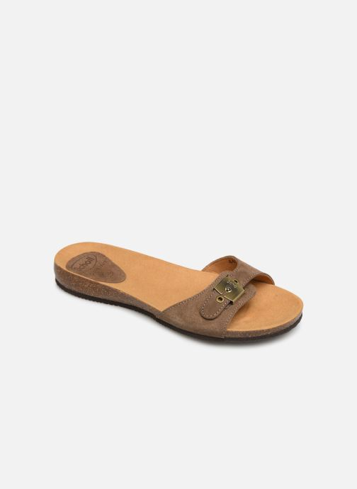 Mules & clogs Scholl Bahama 2.0 C Brown detailed view/ Pair view