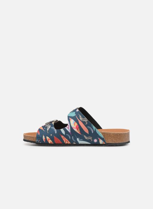 Mules & clogs Scholl Greeny Mule C Multicolor front view