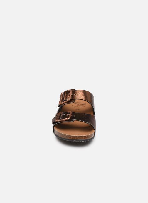 Mules et sabots Scholl Greeny Mule C Marron vue portées chaussures