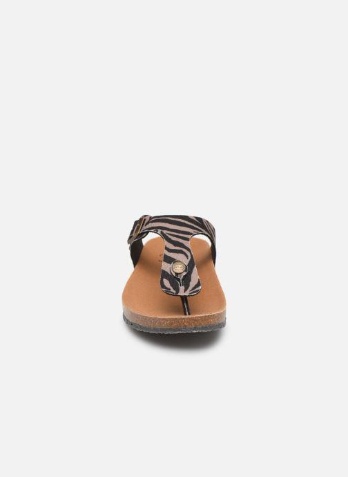 Mules et sabots Scholl Greeny Flipflop C Multicolore vue portées chaussures