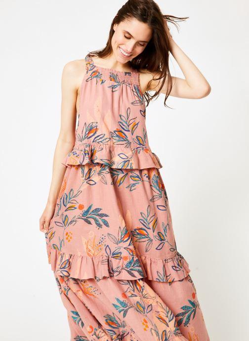 Vêtements Free People ANITA PRINTED MAXI Rose vue détail/paire