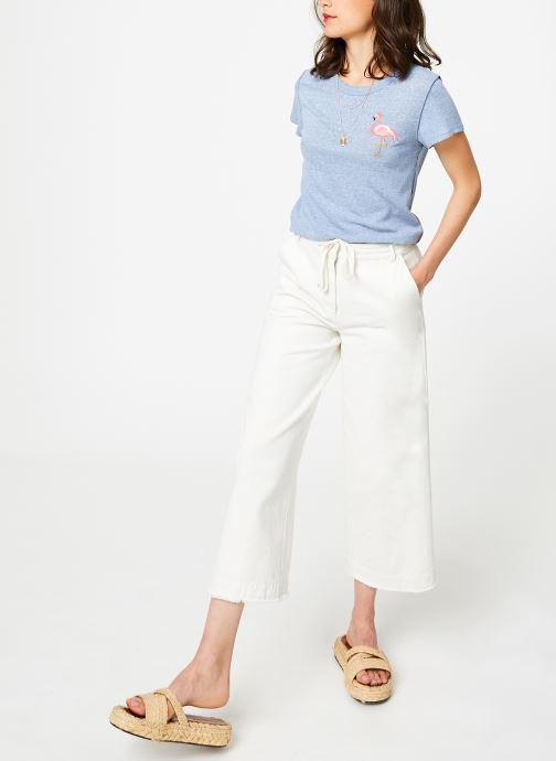 Vêtements Free People BEACHY KEEN T-SHIRT Bleu vue bas / vue portée sac