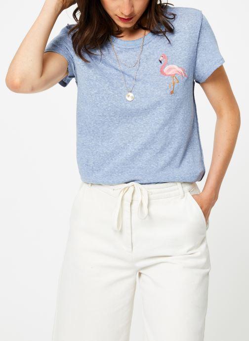 Vêtements Free People BEACHY KEEN T-SHIRT Bleu vue droite