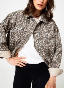 CHEETAH PRINTED DENIM
