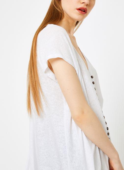 Vêtements Free People HIGHLAND TEE Blanc vue face