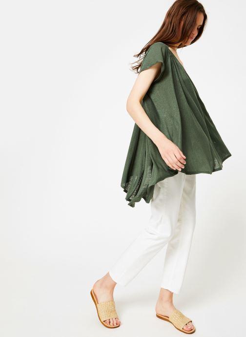 Kläder Free People HIGHLAND TEE Grön bild från under