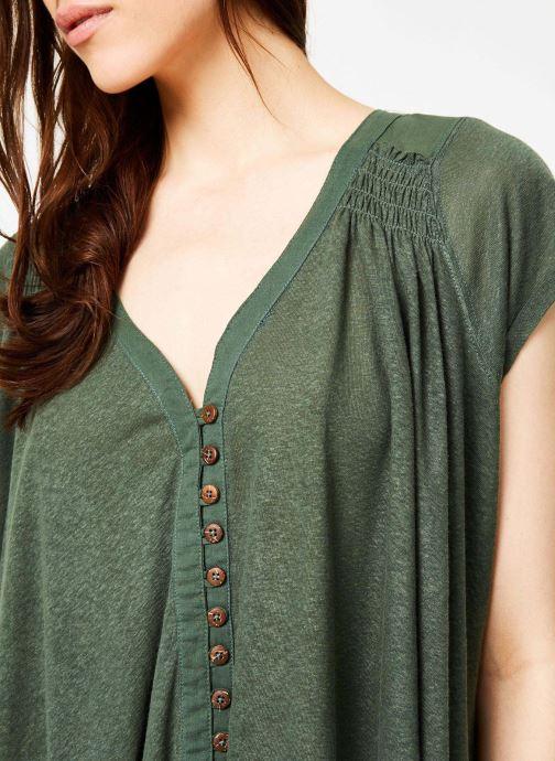 Kläder Free People HIGHLAND TEE Grön bild från framsidan