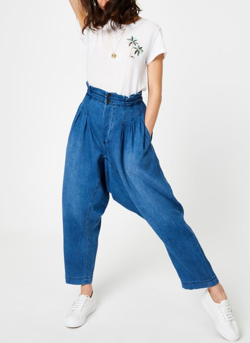 Free People Jean large - MOVER AND SHAKER (Bleu) - Vêtements (373622)