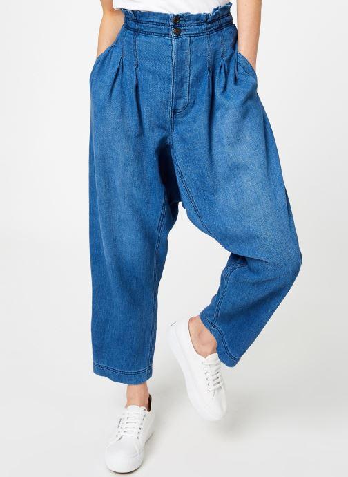Vêtements Free People MOVER AND SHAKER Bleu vue détail/paire