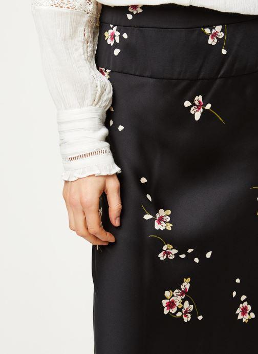 Vêtements Free People NORMANI BIAS PRINTED Noir vue face