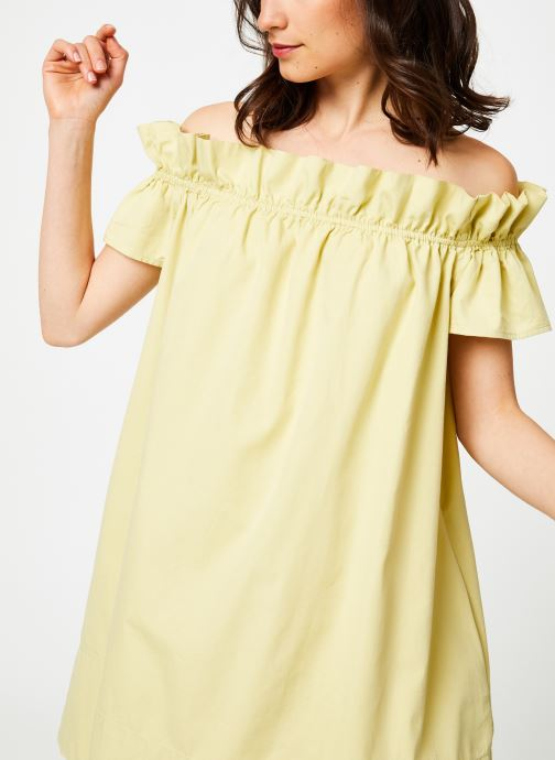 Vêtements Free People SOPHIE DRESS Jaune vue détail/paire