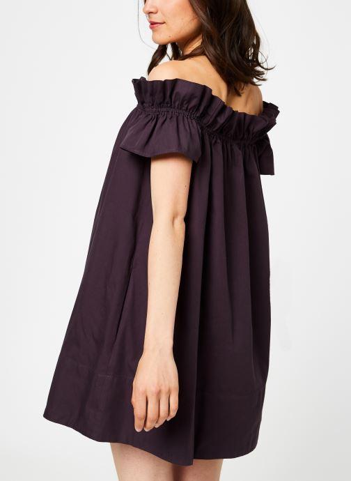 Vêtements Free People SOPHIE DRESS Noir vue portées chaussures