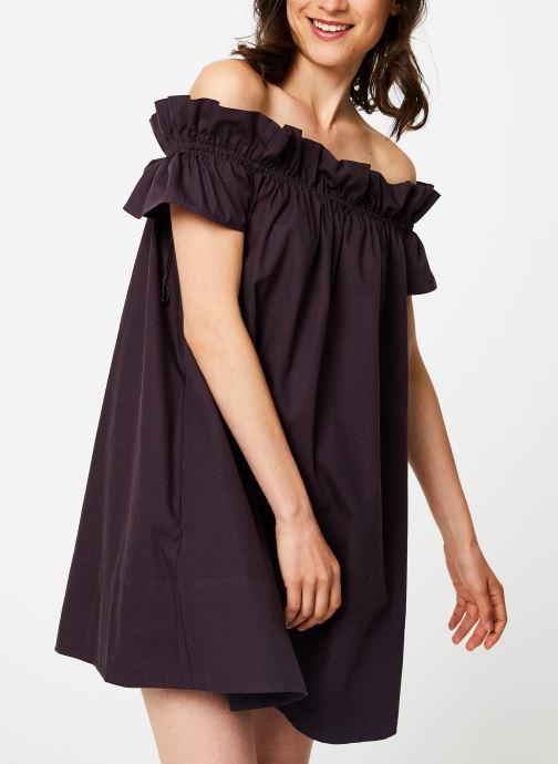 Vêtements Free People SOPHIE DRESS Noir vue droite