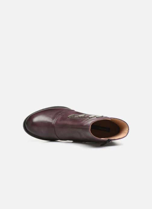 Boots en enkellaarsjes Neosens Baladi S268 Paars links
