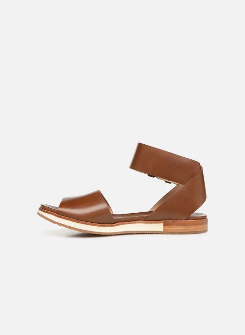 Sandales et nu-pieds Neosens Cortese S500 Marron vue face