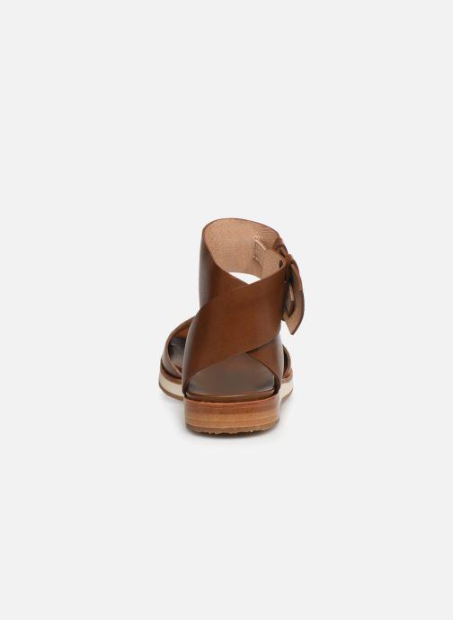 Sandales et nu-pieds Neosens Cortese S500 Marron vue droite