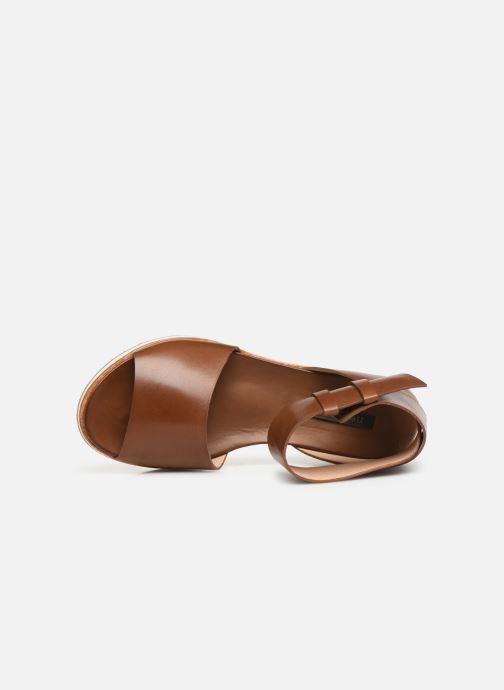 Sandales et nu-pieds Neosens Cortese S500 Marron vue gauche