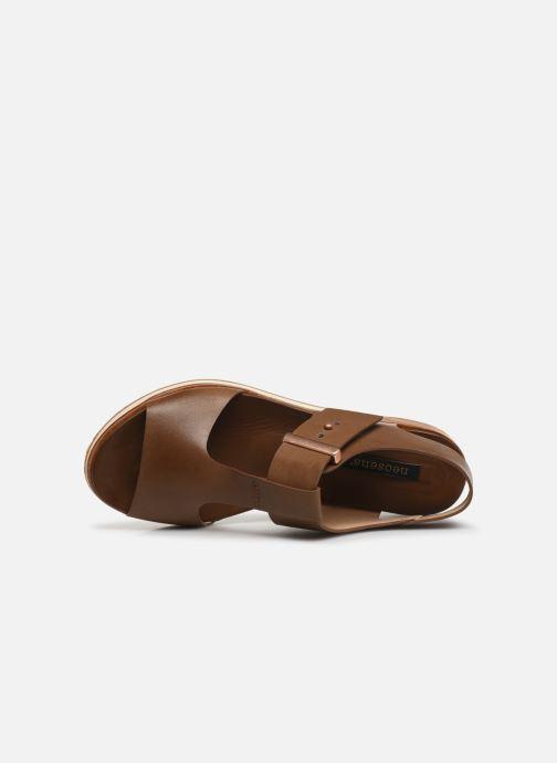 Sandales et nu-pieds Neosens Cortese S504 Marron vue gauche