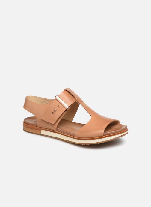 Sandales et nu-pieds Neosens Cortese S504 Marron vue détail/paire