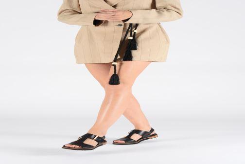 Sandales et nu-pieds Neosens Cortese S504 Noir vue bas / vue portée sac
