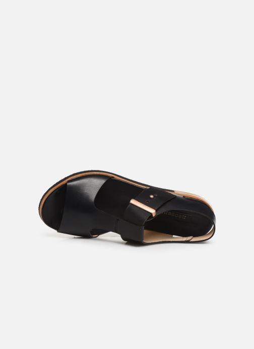 Sandales et nu-pieds Neosens Cortese S504 Noir vue gauche