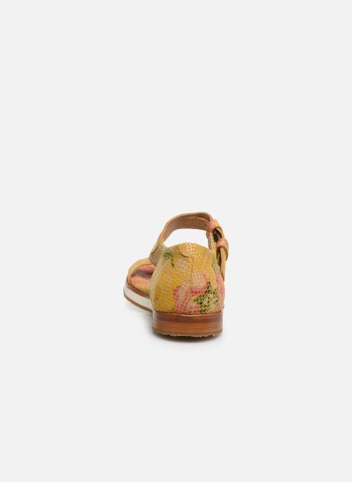 Sandales et nu-pieds Neosens Cortese S505 Jaune vue droite