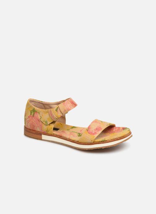 Sandales et nu-pieds Neosens Cortese S505 Jaune vue détail/paire