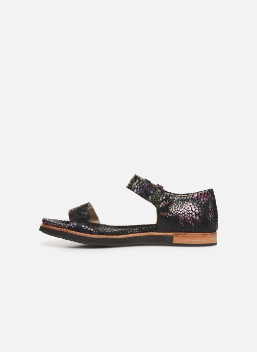 Sandalen Neosens Cortese S505 schwarz ansicht von vorne