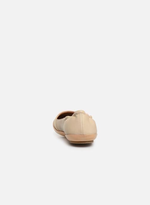 Ballerines Neosens Dozal S655 Beige vue droite